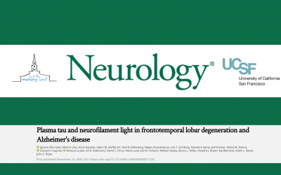 Neurofilament and total tau in plasma for the diagnosis of frontotemporal dementia and Alzheimer's